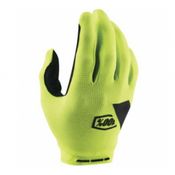 Gloves 100% Ride Camp Yellow Fluor