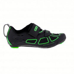 Spiuk Trivium shoes black and green man
