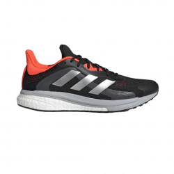 Adidas Solar Glide 4 ST Shoes Black Gray Red AW21