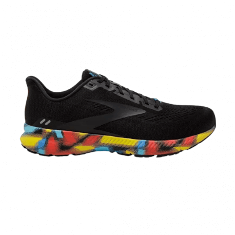 Brooks Launch 8 Black Red Blue AW21 Women's Shoes