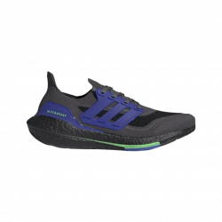 Adidas Ultra Boost 21 Running Shoes Gray Blue AW21