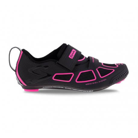 Spiuk Trivium shoes black and pink woman